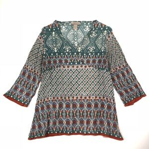 World Market Boho Style Shirt